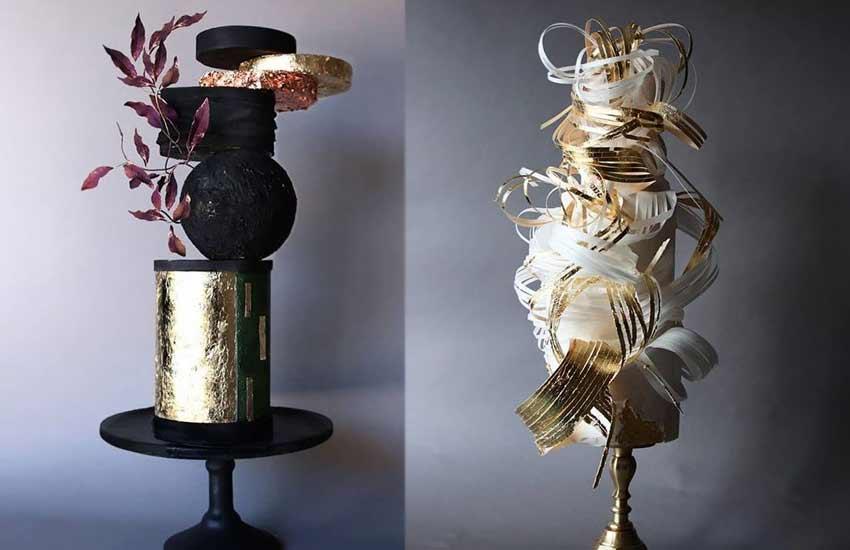 designer wedding Cakes 2019 sculptural lima.cakes