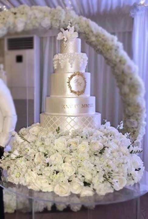 luxury-wedding-Cake-ideas-2019-satin-sweethollywood