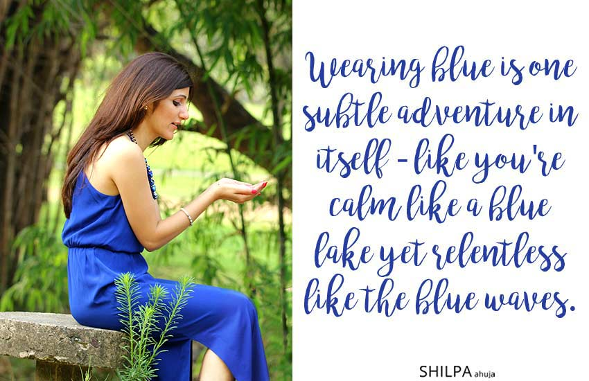 outfit-captions-for-Instagram-blue-dress-quotes-thoughts-beautiful-