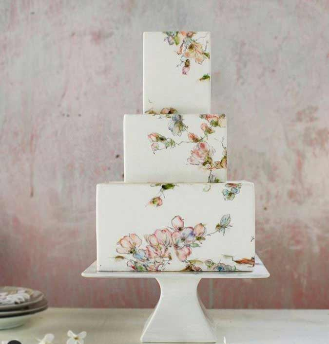 top-wedding-Cakes-design-2019-geometric-maggieaustincake