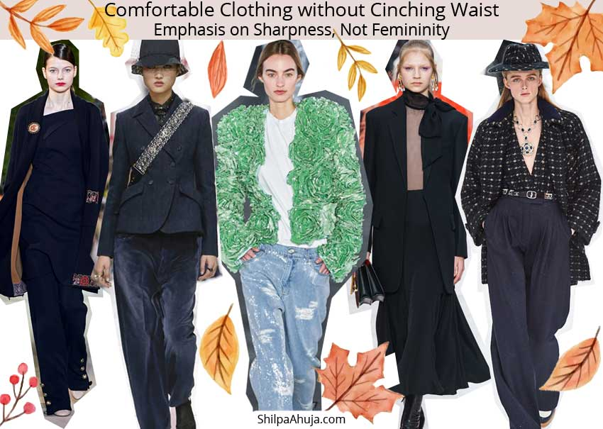 Androgynous Power Silhouette comfortable fall-winter-2019-trends