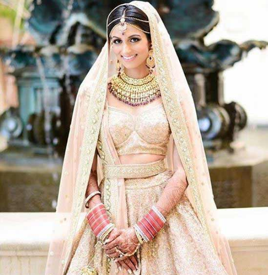Sabyasachi-Latest-Indian-Bridal-lipstick makeup Trends