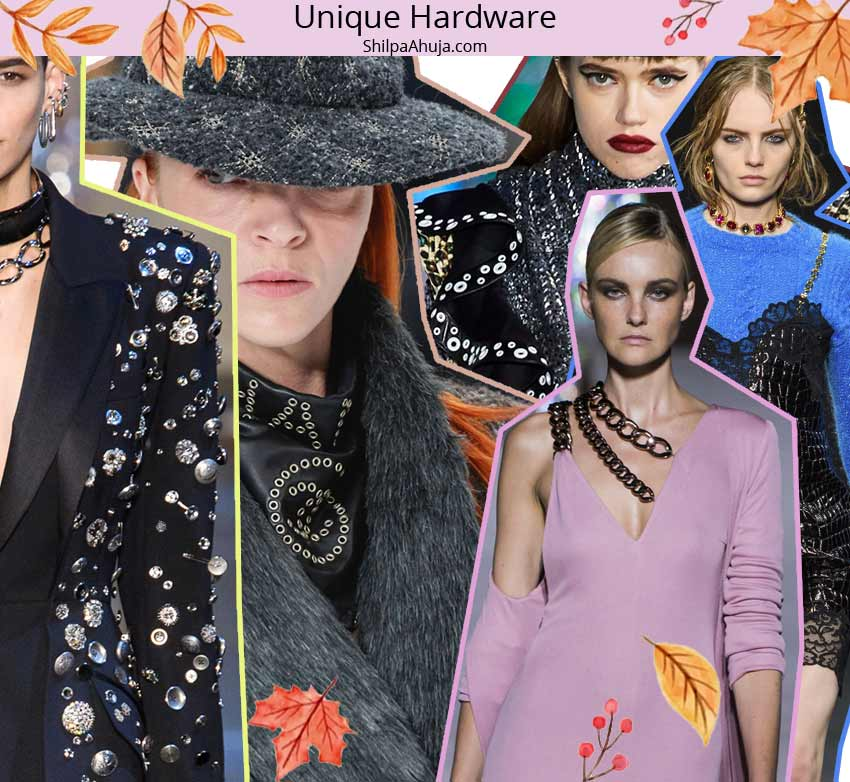 fall winter 2019 2020 fashion trend forecast Unique-Hardware