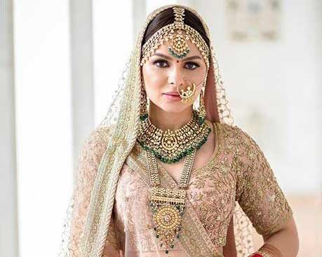 indian bridal makeup idea 2019 2020 wedding dulhan sabyasachi-3