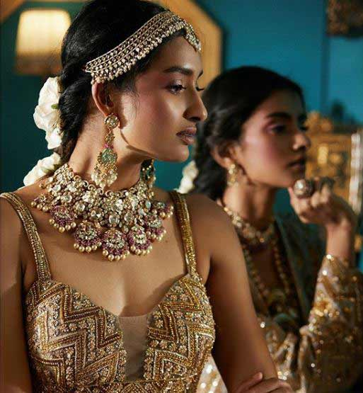indian bridal makeup look 2019 2020 wedding dulhan bridalasia