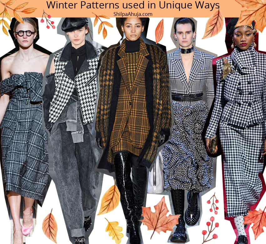 latest fall winter 2019 2010 trends prints winter-patterns