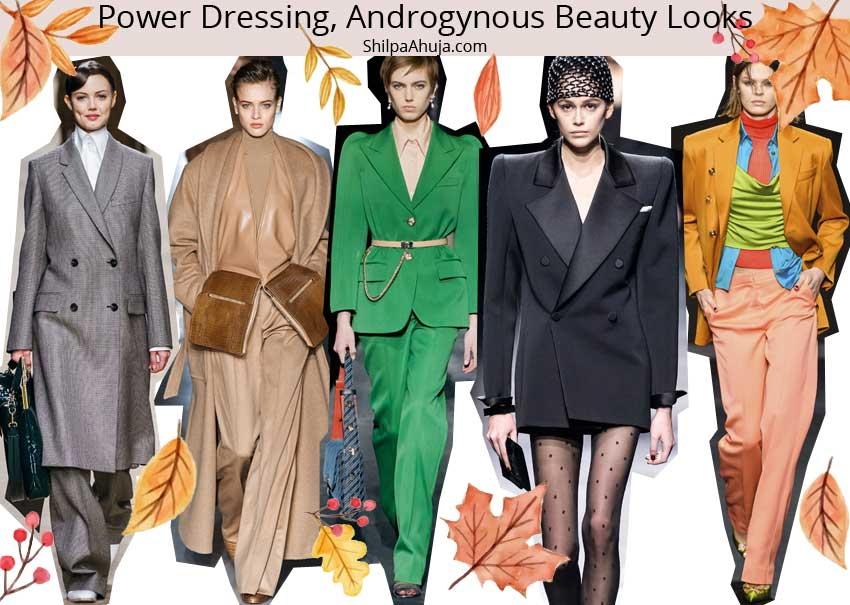 power-dressing-androgynous-beauty-looks-fall-winter-2019-trends