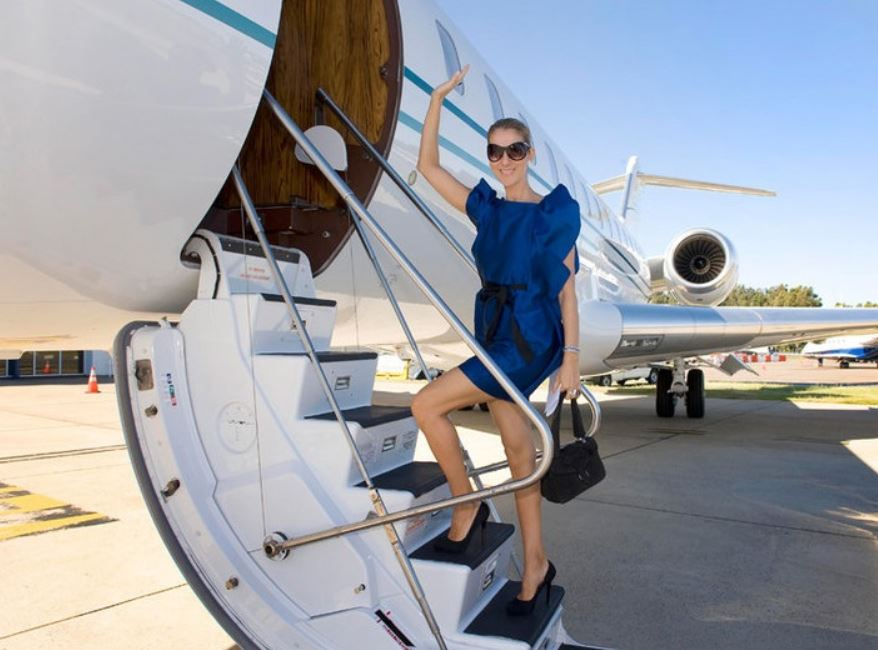 private jet celiene dion