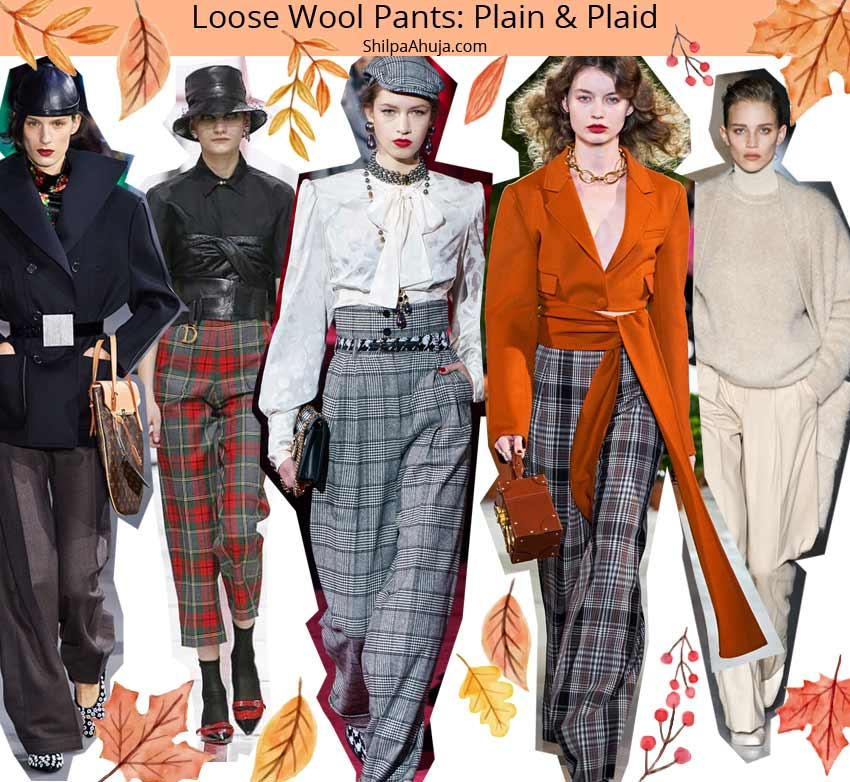 wool-pants fall winter 2019 2010 fashion trends