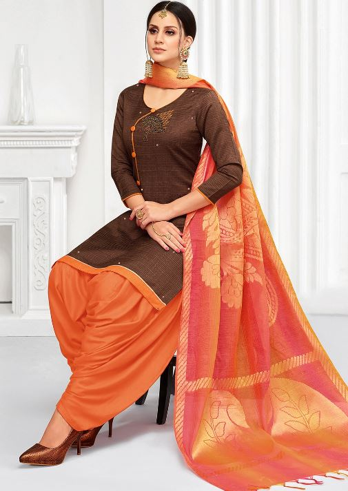 Styles of salwar suits women patiala salwaar