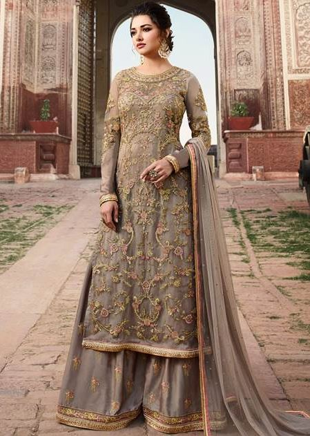 Types of salwar suits women palazzo suit