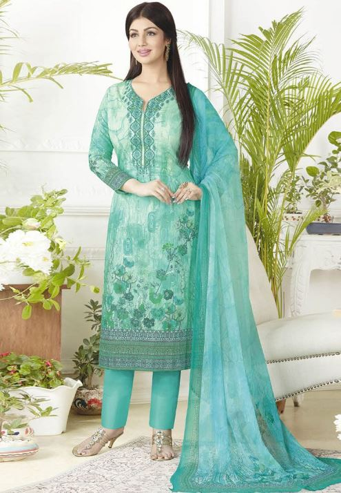 Types of salwar suits women pant style suit