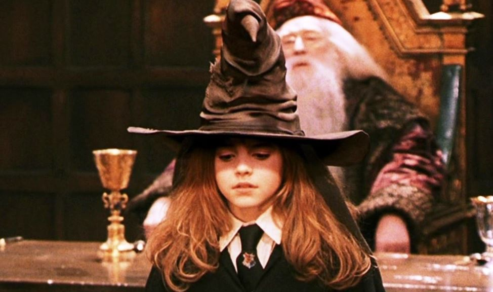 hermione sorting hat harry potter