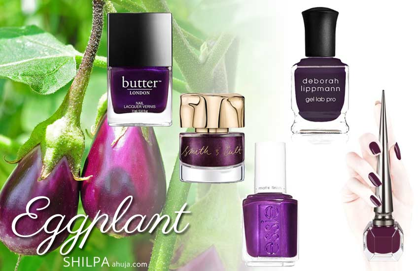 popular nail-polish-color-trends-fall-2019-winter-2020-eggplant