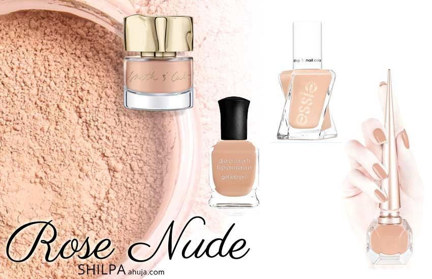 top-nailpolish-color-trends-fall-2019-winter-2020 rose-nude