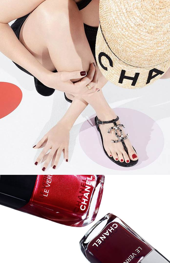 luxury expensive nail-polish-brands in india chanel