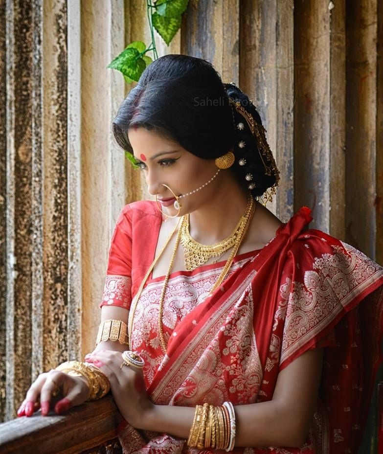 bengali-saree-woman