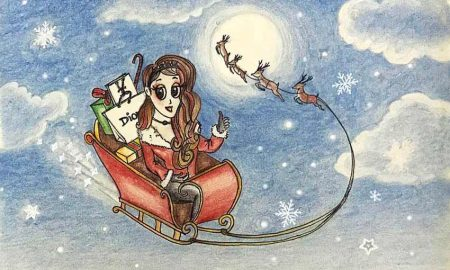 christmas-audrey-o-santa-cartoon-girl-drawing-cover