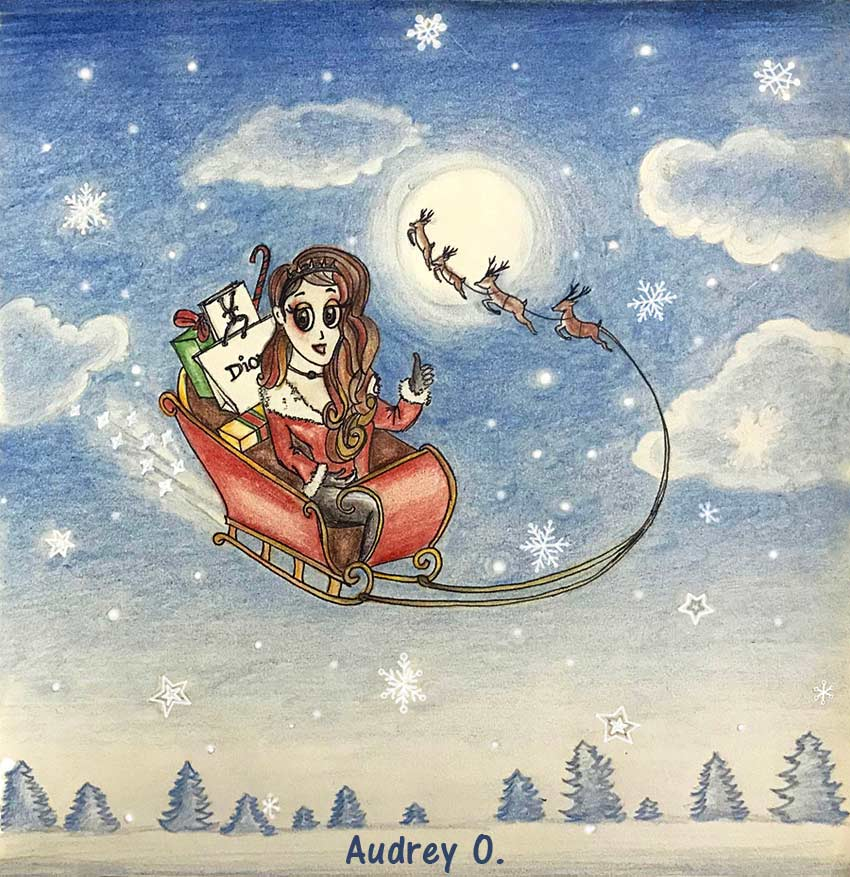 christmas-audrey-o-santa-cartoon-girl-drawing