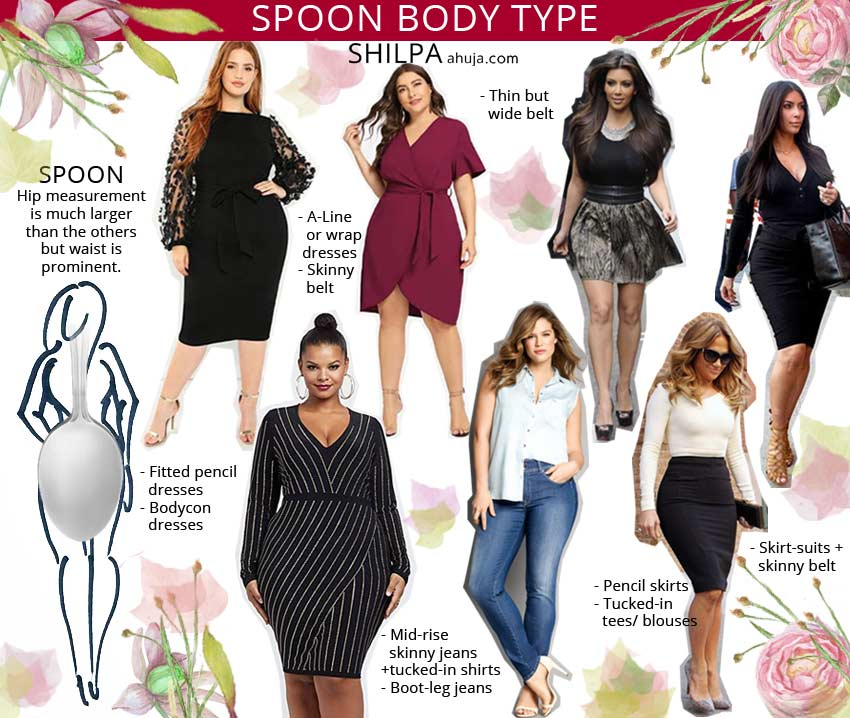dress outfit ideas curvy-body-shape-type spoon