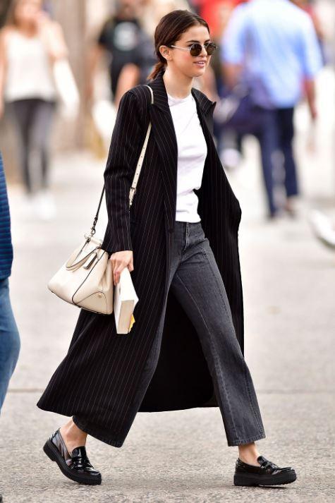 selena gomez fall street style casual celebrity