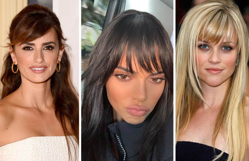different Types of Haircuts-long-hair-for-women-bangs-