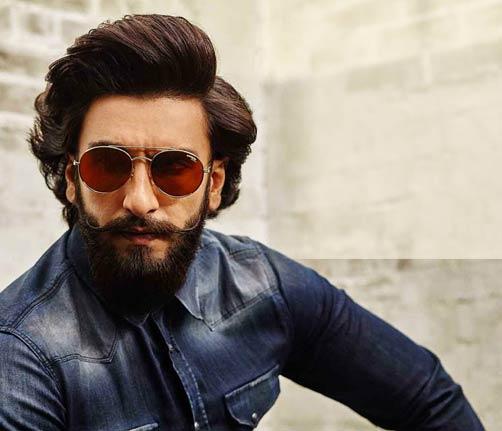 Ranveer-Singh-Retro-Upstyled-Flow-Hair