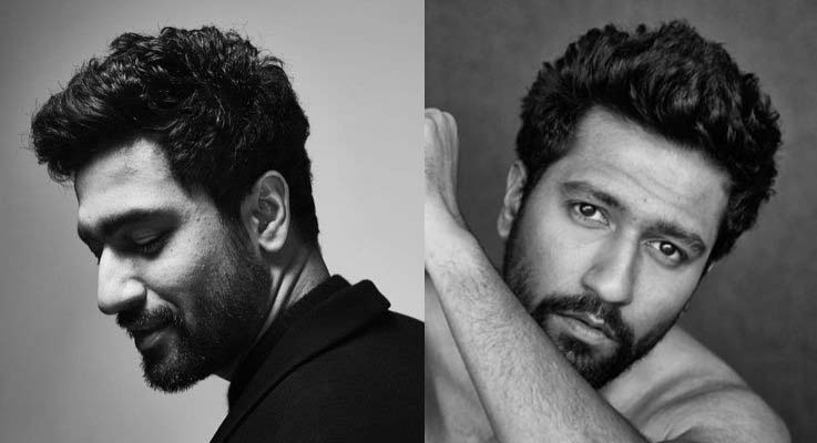 bollywood hairstyle boy upstyled textured tousled Vicky-Kaushal