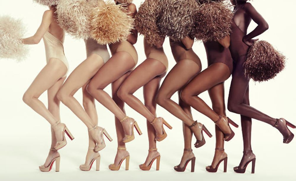 fashion skin tones shows christian louboutin color