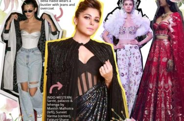 unique latest indo western fashion bustier
