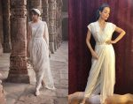 Latest-indian-fashion-Trends-2020-draping manish-malhotra-tahiliani