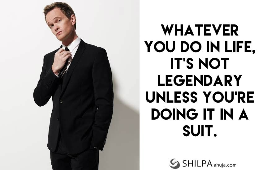 men's suit quotes for-Instagram-funny-barney-stinson