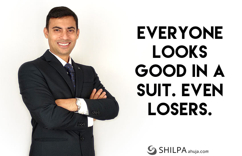 men's suit quotes-Instagram-funny-captions-dressing-well
