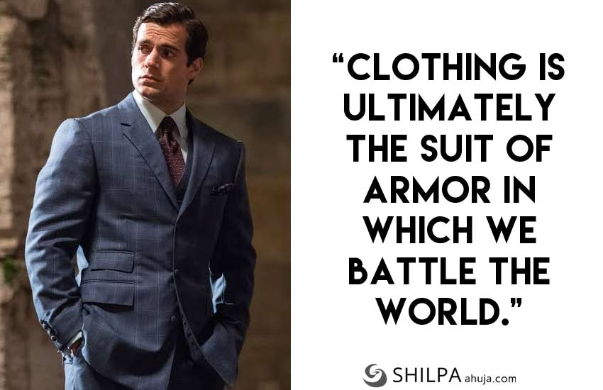 men's Suit Quotes for-Instagram-men-well dressed henry-cavill