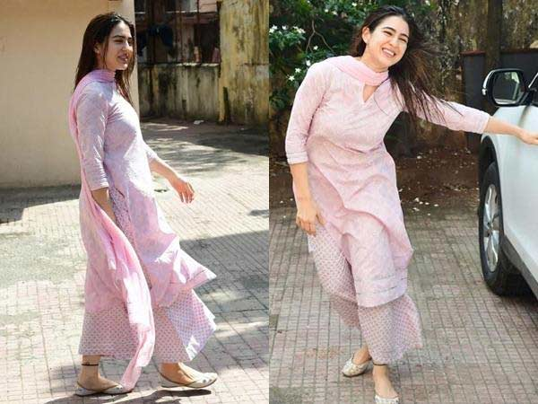 bollywood actress etnic wear parallel pants sara ali khan 2