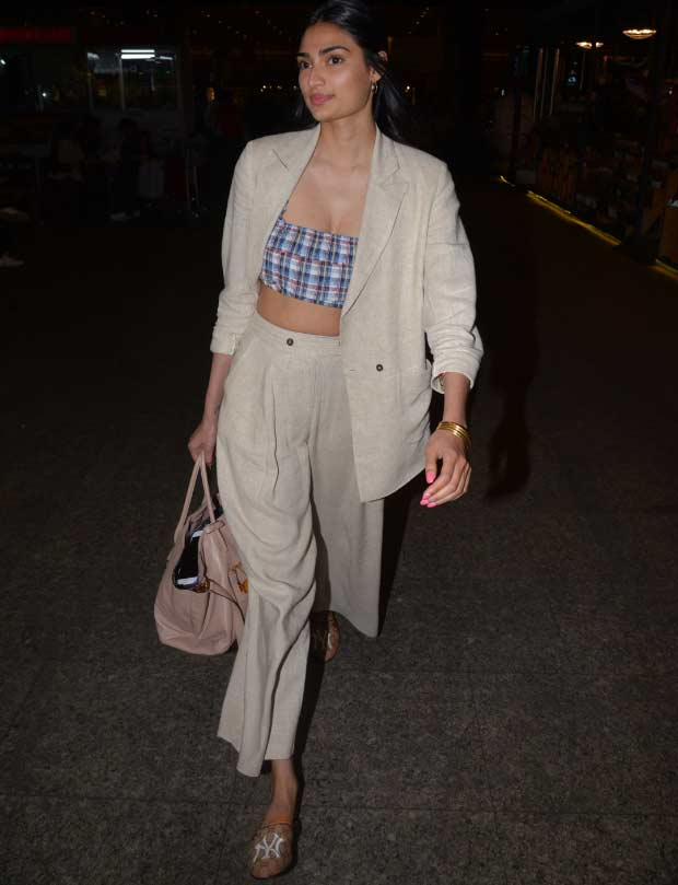 Bollywood Celeb Street Style actress 2020 pant-suit