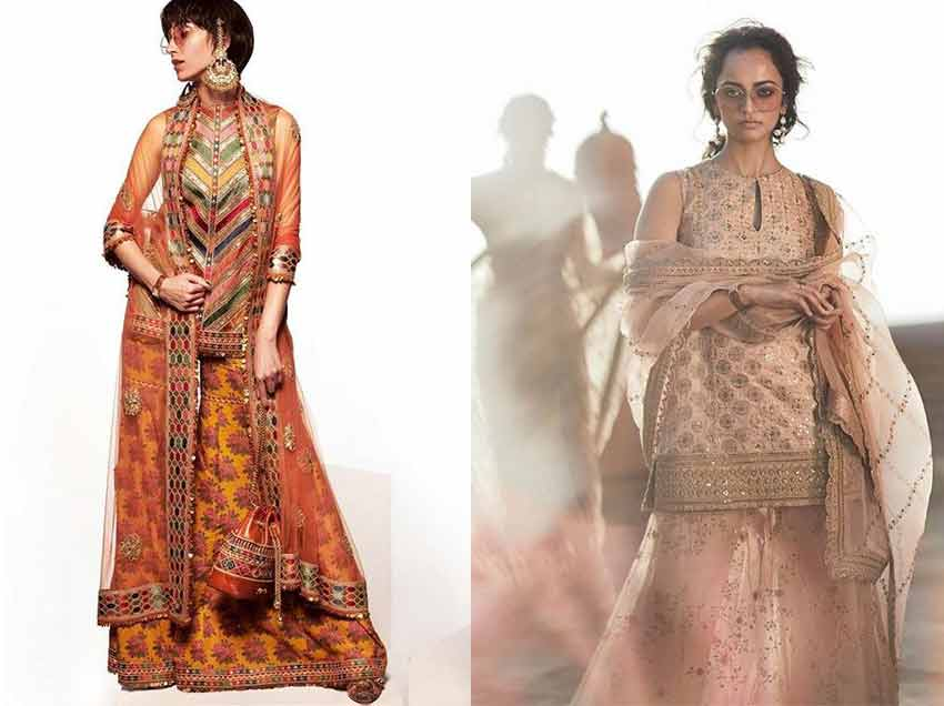 ethnic-fashion-Trends-2020-sharara-sabyasachi