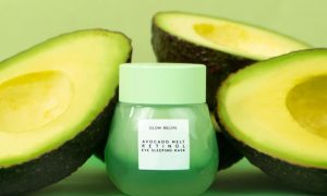 glow recipe avocado sleeping mask niacinamide