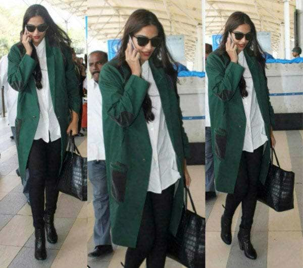indian celeb style western trends outfit duster-coat