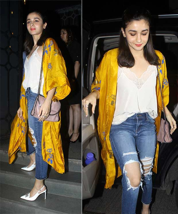 kimono bollywood actress casual western wear alia bhatt
