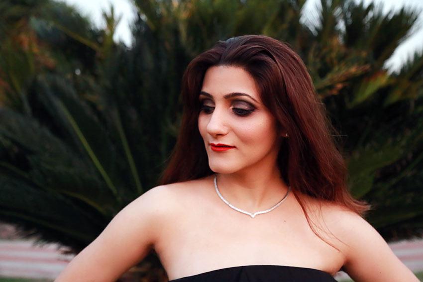 shilpa ahuja makeup blogger style fashion black eyeshadow