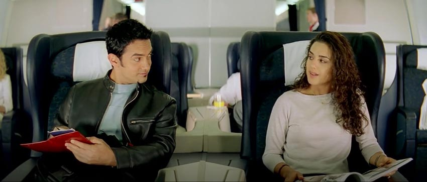 Dil Chahta Hai Shalini akash aamir khan flight