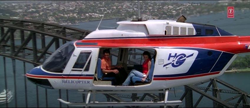 Dil Chahta Hai Shalini akash aamir khan preity zinta helicopter