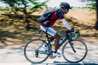 abhishek sareen long distance biking cyclist
