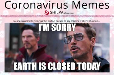 coronavirus-memes-earth-is-closed-today