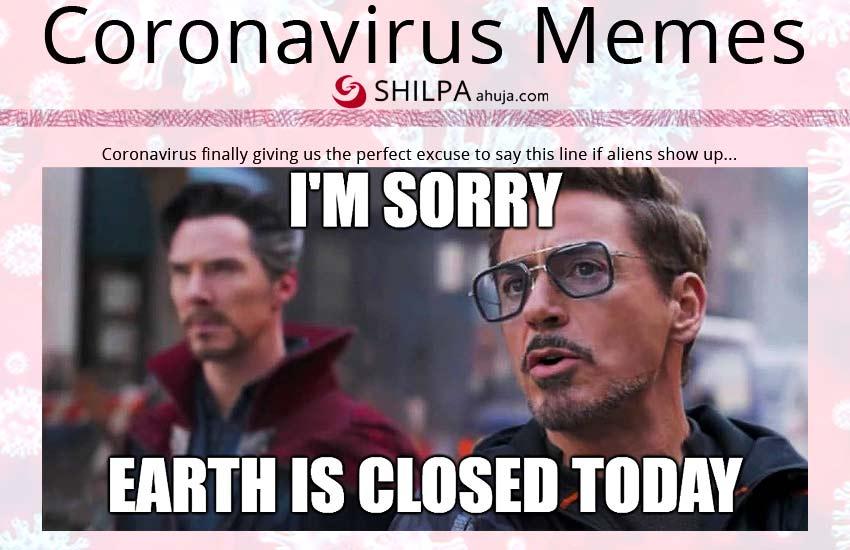 coronavirus-memes-earth-is-closed-today