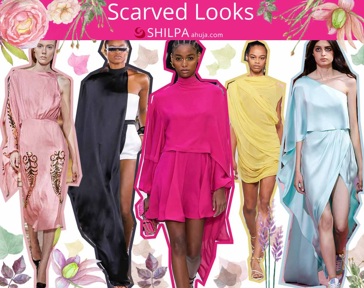 hot fashion trends spring summer 2020 scarved-dresses