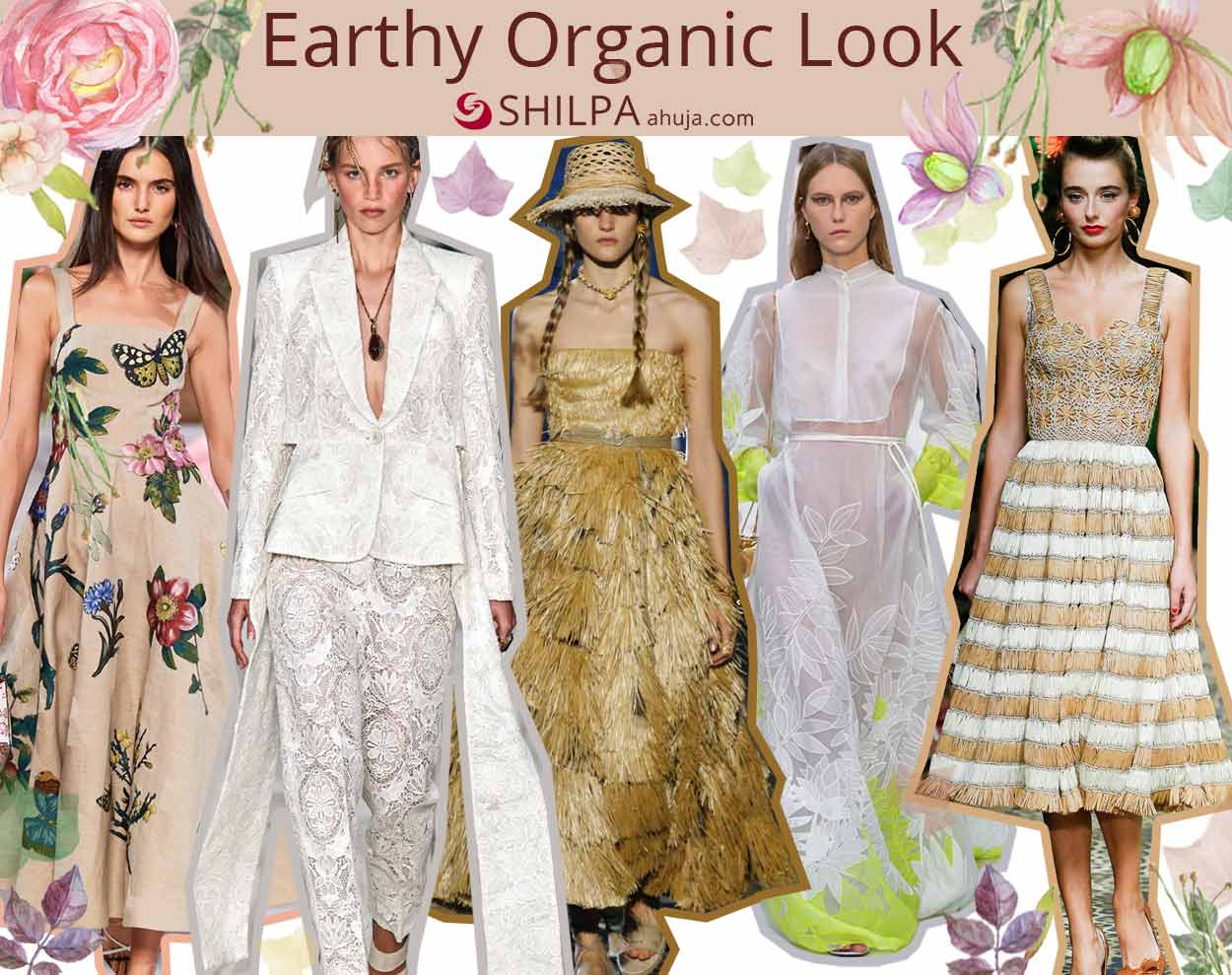 latest fashion forecast 2020 spring summer Earthy-Organic-Look