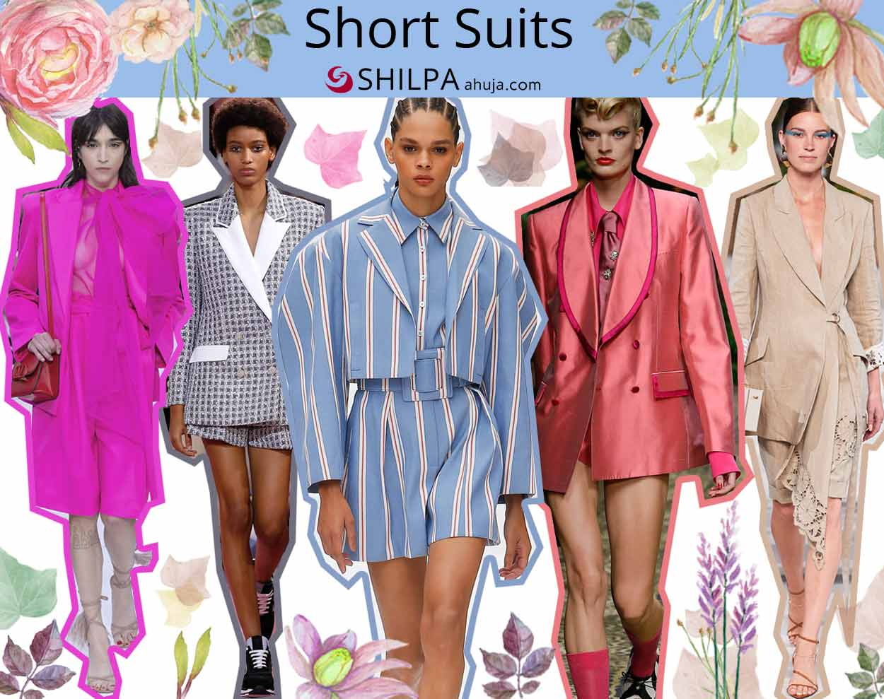 latest fashion trends forecast spring summer 2020 Short-Suits