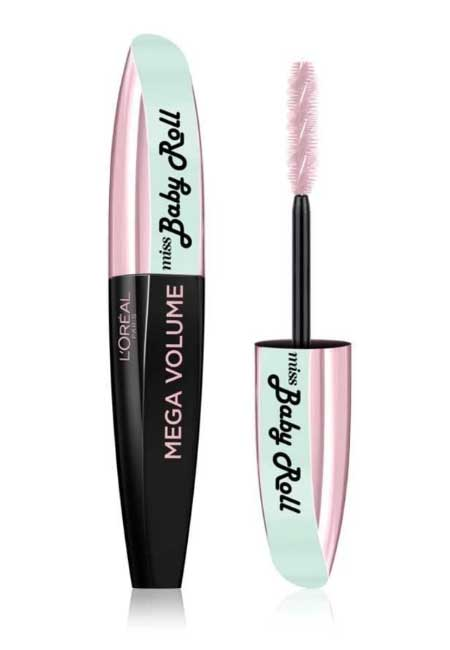 types-of-mascara-wands-Spiral-Maybelline-babydoll-eyes